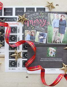The holiday season has arrived! Personalize your Christmas cards, stickers and address labels to capture something special. Melissa showed photos of her little growing family.