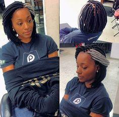 Faux Locs • Fauc Loc Bob • Protective Style • Dreads • Yarn Locs • Genie Locs • 804 braids • va braids • hair • bob season