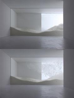 tokujin yoshioka for 'sensing nature' exhibition