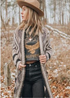 Western Outfits, Boho Outfits, Western Wear, Fall Outfits, Fashion Outfits, Western Style Clothing, Country Style Clothes, Casual Country Outfits, Casual Hipster Outfits