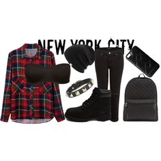 Street Style by stylebyliyah on Polyvore featuring J Brand, Timberland, Valentino, Coal and MARC BY MARC JACOBS
