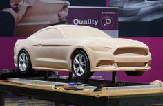 OG | 2015 Ford Mustang Mk6 | Scale clay model