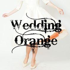 Wedding - Orange Cover by The LA Effect Wedding Orange, Cover, Decor, Decoration, Decorating, Deco
