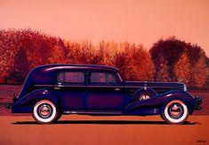 Cadillac V16 Custom Imperial 1937 Painting