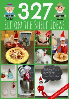 327 elf on the shelf ideas on sassystyleredesign.com #elfontheshelf #elf #ideas #christmas