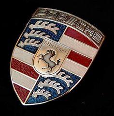 Porsche with a little red, white, and blue modification. Porsche Sports Car, Porsche Cars, Porsche Logo, Porsche Classic, Classic Cars, Porsche 911 Speedster, Porsche 914, 911 Turbo S, Porsche Carrera