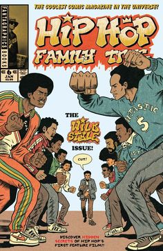 Hip Hop Family Tree #6 #Fantagraphics Release Date: 1/27/2016