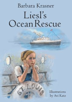 The Josephs were celebrating a birthday when SS men came to arrest Father. The Josephs had no choice—they had to leave Germany forever. LIESL'S OCEAN RESCUE by Barbara Krasner is the story of 10-year-old Liesl Joseph and her family who boarded the ill-fated MS St. Louis on May 13, 1939, together with 937 other Jewish refugees. They left Germany to seek temporary asylum in Cuba, but when the ship landed in Cuba, no one was allowed off. The ship was ordered back to Germany.
