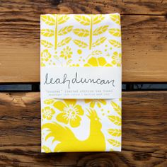 Love Leah Duncan designs <3 Rooster Tea Towel  Every Portuguese person NEEDS a rooster in their kitchen <3 <3 <3