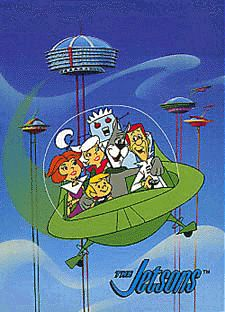 The Jetsons ( Los Supersonicos ) Cartoon Cartoon, Vintage Cartoon, Cartoon Characters, 1980 Cartoons, Old School Cartoons, Os Jetsons, Unique Trees, Old Shows, Hanna Barbera
