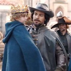 IT'S BEEN FIVE YEARS SINCE HE'S HELD HIS SON!!!!!!!!!!!!! The Musketeers - Series III