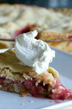 Fresh Rhubarb Pie Recipe