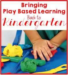 Where Has the Play in Kindergarten Gone