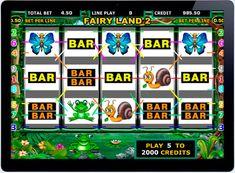Игровой автомат Fairy Land на деньги рубли.  Не смотря на обилие новых игровых автоматах, по прежнему не менее популярен Fairy Land отIgrosoft, в который также можно играть на деньги рубли в онлайн казино. Такая популярность стала возможнымблагодаря специальным функциям � Fairy Land, Baseball, Website