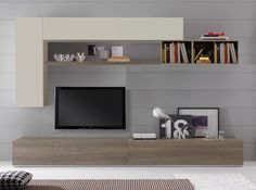 Spar Modern Italian Wall Unit Wind