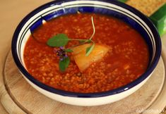 Paradajková polievka s bulgurom Vegan, Ethnic Recipes, Soups, Style, Bulgur, Swag, Soup, Vegans, Chowder