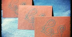 Charming Embroidered Monogrammed Notecard Set!   Very Jane.  Reesey Roo's has created these unique cards - great for mothers, fathers, sisters, co-workers, bosses, friends, thank yous, ect.  Become a fan on facebook for WEEKLY GIVEAWAYS! www.facebook.com/ReeseyRoos