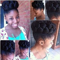 20 Fancy twist braid styles to try this season. Best twist braid styles for women. Simple and easy braid styles for this summer. Braided Bun Hairstyles, African Braids Hairstyles, My Hairstyle, Fringe Hairstyles, Black Hairstyles, Bun Updo, Beehive Hairstyle, Wedge Hairstyles, Brunette Hairstyles