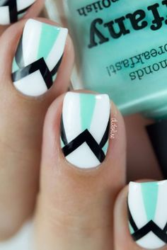 Cute Nail Art Ideas For Short Nails 2016 Cute and inspired nail art ideas that you will love! Check out for more nail art ideas.Cute and inspired nail art ideas that you will love! Check out for more nail art ideas. Great Nails, Cute Nail Art, Cute Nails, Simple Nails, Nail Polish Designs, Cute Nail Designs, Nails Design, Chevron Nail Designs, Gel Polish