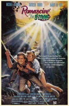"""What did you do, wake up this morning and say, 'Today, I'm going to ruin a man's life'?"" Romancing the Stone"