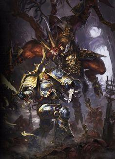 Широкоформатные обои для ваших девайсов!:) Warhammer 40k, Gathering Storm, Wh art, длиннопост