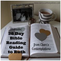 28 Day Bible Reading Guide to Ruth: this 15 minute daily guide to Ruth will provide new insights into this amazing book of the Bible. It is a great way to do a concentrated study, and includes a variety of both Old and New Testament passages to broaden your understanding and appreciation of this inspiring story of love and redemption. Perfect to continue your Bible reading goals for the month of February!