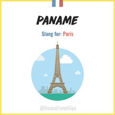 T'es où? À Paname? J'arrive!  Learn French with @EncoreFrenchTips #paris #french
