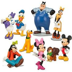 Disney Mickey Mouse Clubhouse Figurine Deluxe Figure Set. Specifically like this set because it includes Pete!