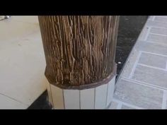 Como fazer textura l textura grafiato, casca de árvore. Parte 1 - YouTube