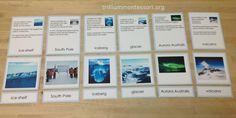 Physical Features of Antarctica- Trillium Montessori
