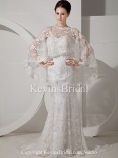 http://www.kevinsbridal.com/prod/Long-Lace-Spring-Fitted-Natural-Waist-Covered-With-Jackets-Bridal-Gown_179/