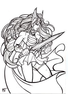 4 years ago today, i made my first attempt to draw 80's superheroine, she-ra. recently, drew her which made me go back and look at mine. looking back on it, i see that i have greatly improved ...