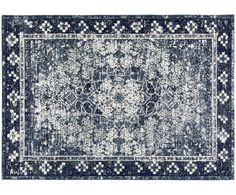 Rugs - We've updated the beautiful floral pattern of a traditional Persian rug with a modern color palette designed to look good in any room. Blue Persian Rug, Persian Carpet, Large Area Rugs, Wool Area Rugs, Living Room Carpet, Rugs In Living Room, Modern Color Palette, Synthetic Rugs, Chenille