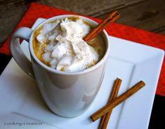 Cooking Creation: Pumpkin Spice Latte