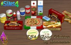 Food Clutter at Ladesire • Sims 4 Updates