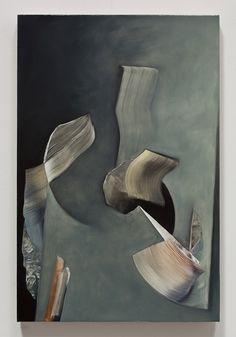 Lesley Vance ~ Untitled, 2011, oil on linen, 19 x 12.5 inches, via David Kordansky Gallery