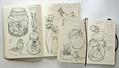 my moleskine by Anna Rusakova, via Behance (3)