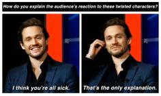 Hugh Dancy (lol)
