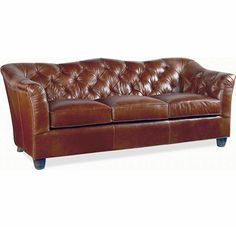 Rendezvous Sofa (0609-07) - love this leather sofa from Thomasville's Earnest Hemingway collection