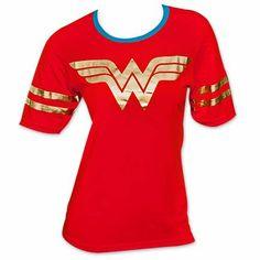 Wonder Woman Women's Foil Logo T-Shirt
