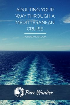 You can take a cruise as a young adult - well, youngish! Here is a guide to cruising with your parents, taking a cruise as a group, cruise tips for groups and much more in the Mediterranean.