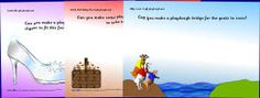 Fairy Tale Themed Playdough Mats