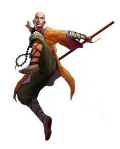 dungeons and dragons monk Dungeons E Dragons, Dungeons And Dragons Characters, Dnd Characters, Fantasy Characters, Fantasy Character Design, Character Concept, Character Inspiration, Character Art, Concept Art