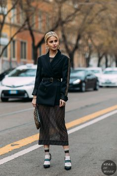 Caroline Daur by STYLEDUMONDE Street Style Fashion Photography FW18 20180222_48A2742