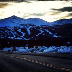 Skiing in Breckenridge, Colorado. :)