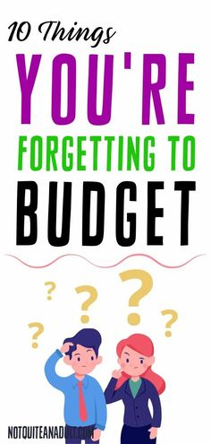 A lot of the time, our budgets fail because we are missing some crucial budgeting categories that we just seem to forget and these are the things that will help us keep a better budget and do better with our money long term! Cash Envelope System, Get Out Of Debt, Budget Planner, Best Budget, Budgeting Tips, Credit Score, Make More Money, Finance Tips, Money Saving Tips