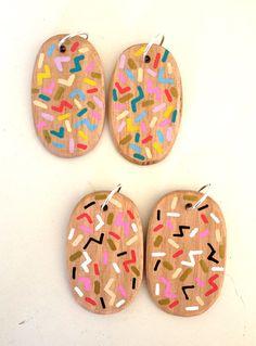 Speckle Earrings by Stampel