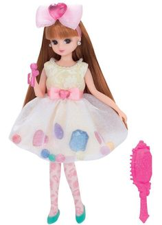 Takara Tomy Licca Doll Kira-make Dress Set Jewel doll not included (853138)