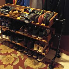 a Industrial Shoe Rack Shoe Storage Shoe Rack Shoe Organizer