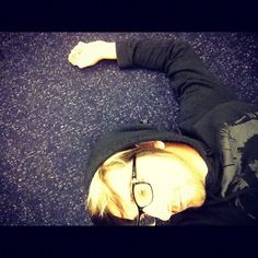 """""""Airport floor. My favorite place to be."""" :D"""